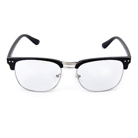 ff44173da4c LEORX Vintage Retro Classic Plain Glasses Eyeglasses Frame Half Frame  Glasses  Amazon.co.uk  DIY   Tools