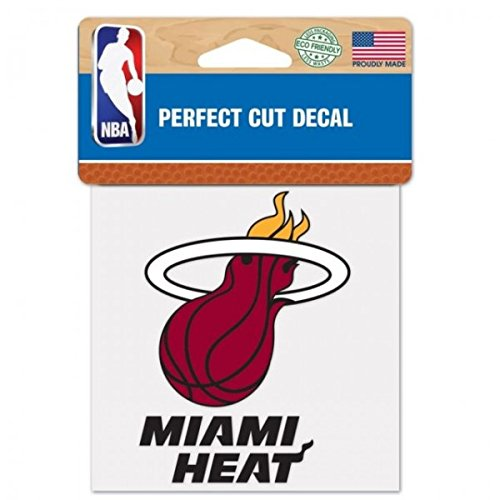 WinCraft NBA Miami Heat Perfect Cut Color Decal, 4