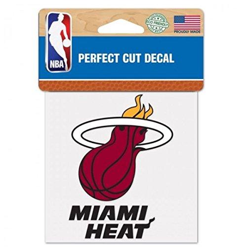 (WinCraft NBA Miami Heat Perfect Cut Color Decal, 4
