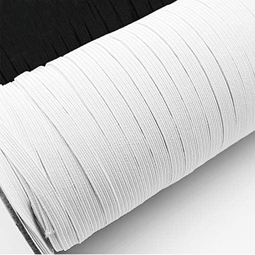 Urhome 5mm Elásticas Planas Bandas de Costura para costura y ...