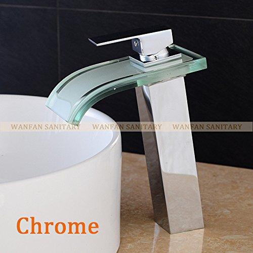 Maifeini Der Neue Stil Farbe Ändern Wasserversorgung Bad Eitelkeit Pool Küchenarmatur Armatur Waschtisch Armatur - Verchromt