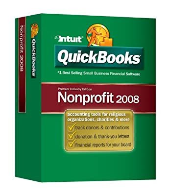 QuickBooks Premier Nonprofit Edition 2008 [OLD VERSION]