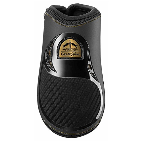 Veredus Grand Slam Carbon Gel Rear Fetlock Boots Medium black