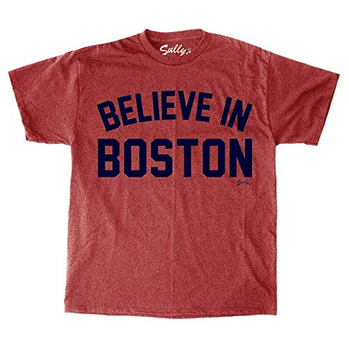 Sully's Brand Believe in Boston - Heather Red - Youth T-Shirt