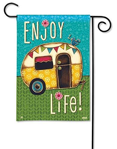 BreezeArt Enjoy Life Garden Flag #31079