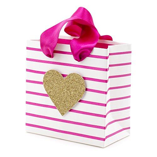 Hallmark Signature Small Gift Bag (Glitter Heart)