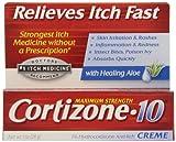 Cortizone 1% Hydrocortisone Anti-Itch Cream, 1 oz