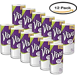 PACK OF 12 - Viva Strong & Soft Like Cloth Paper Towels