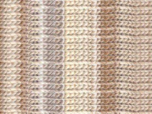 Noro Kureyon, 211 - Ivory-Taupe (Yard 110 Yarn)