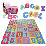 Nessere Carpet Paly mats for Infants Play mats Puzzle for Kids Dresses