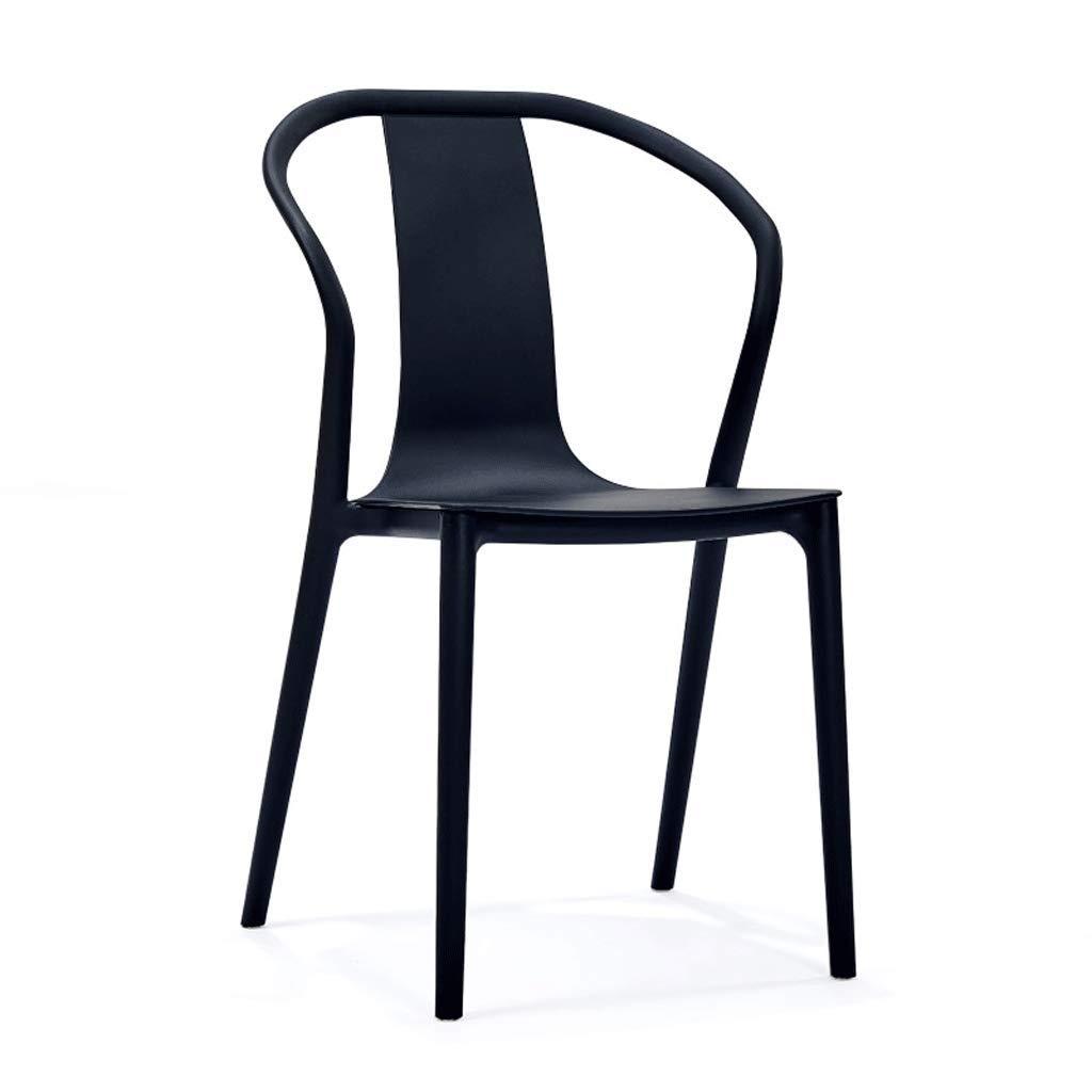 f6b30a35993cf Amazon.com - SLH Modern Minimalist Chair Armrest Dining Chair Nordic ...