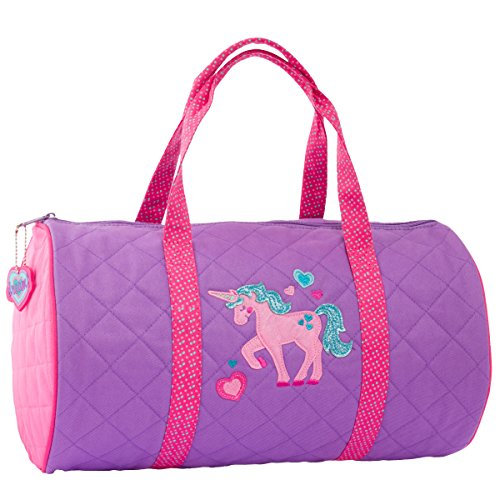 Embroidered Duffle Bags - Stephen Joseph Quilted Duffle,