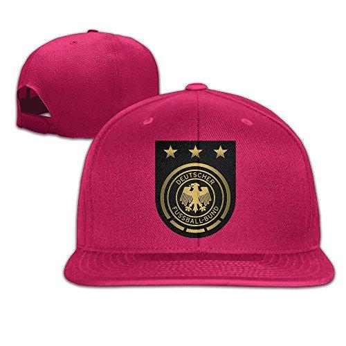 Cricket World Cup Adjustable Cap (MaNeg Germany Soccer Team Unisex Fashion Cool Adjustable Snapback Baseball Cap Hat One Size Red)
