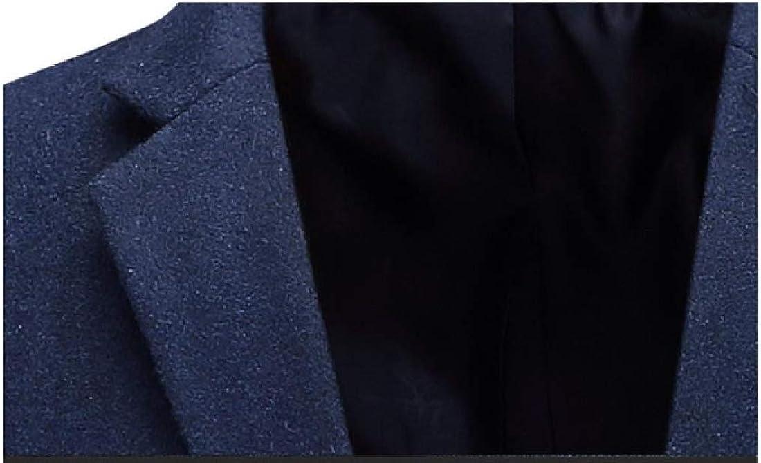 NestYu Mens Casual Tailored Fit Notch Lapel Blazer Jacket