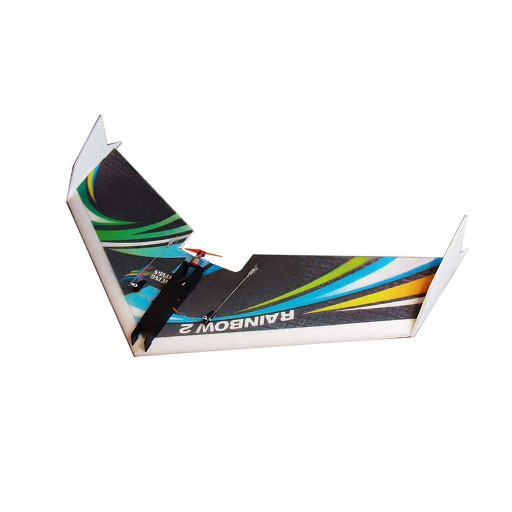 Type2 Goolsky Dancing Wings Hobby E0604 Rainbow II 1000mm Wingspan KIT RC Airplane Delta Wing Tailpusher Flying Aircraft