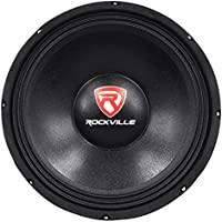 Rockville RVP12W4 600 Watt 12 Raw Replacement DJ PA Subwoofer 4 Ohm Sub Woofer