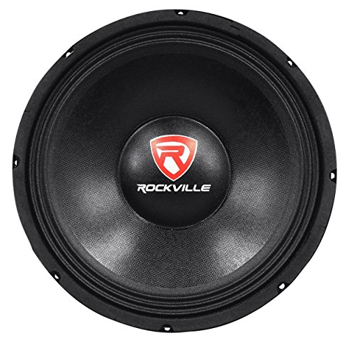 Rockville RVP12W4 600 Watt 12'' Raw Replacement DJ PA Subwoofer 4 Ohm Sub Woofer by Rockville