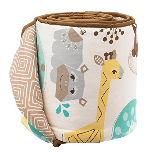 (Lolli Living Zig Zag Zoo Bumper - Menagerie)