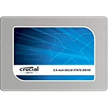 """(OLD MODEL) Crucial BX100 250GB SATA 2.5"""" 7mm (with 9.5mm adapter) Internal Solid State Drive - CT250BX100SSD1"""