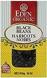 Eden Foods Organic dry black beans, 454 gm