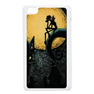 iPod Touch 4 Case White Nightmare Before Christmas 3D Custom Phone Case Cover XPDSUNTR12290