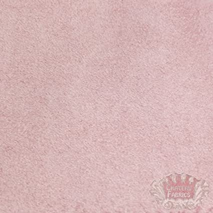 Amazon Com Suede Microsuede Upholstery Fabric Pink 58 Sold By The