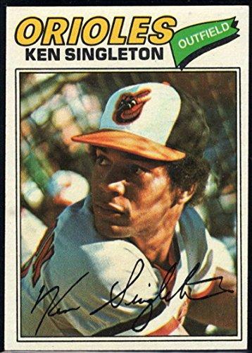 Baseball MLB 1977 Topps #445 Ken Singleton Orioles
