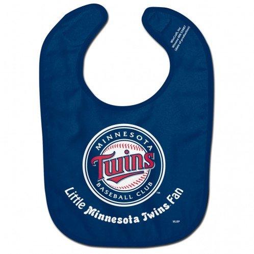 WinCraft MLB Minnesota Twins WCRA0117114 All Pro Baby Bib Twins Baseball Gear