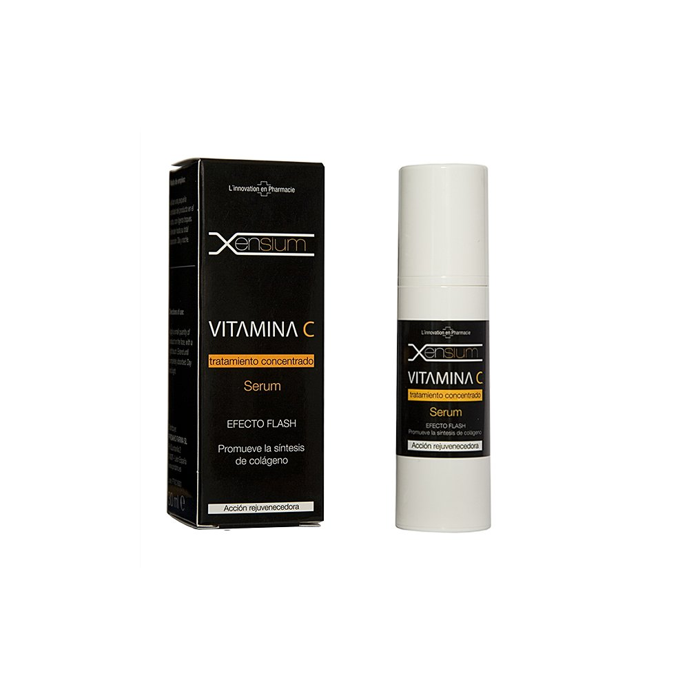 Xensium Serum Vitamina C - Paquete de 2 x 30 ml - Total: 60 ml: Amazon.es: Belleza