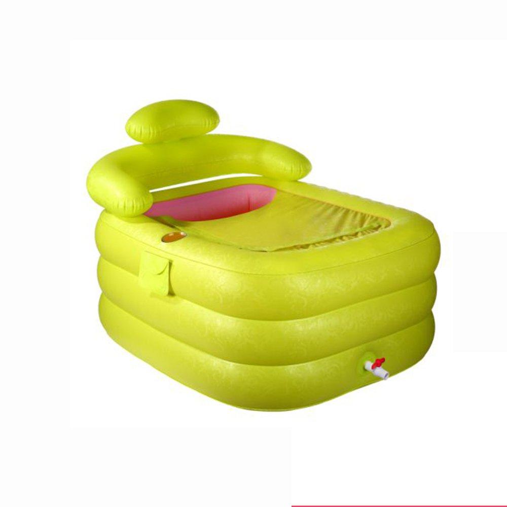 Inflatable Bathtub Bañera Hinchable qz bañera Hinchable Plegable ...