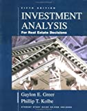 img - for Investment Analysis for Real Estate Decisions: 5th (Fifth) Edition book / textbook / text book