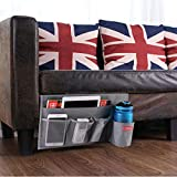 Zafit 5 Pockets Bedside Caddy, Bedside Storage