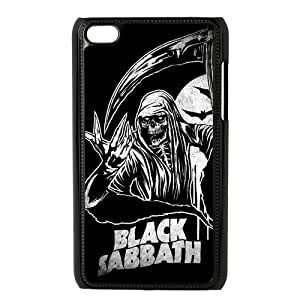 Fashion Black Sabbath Hard Plastic Protector Snap On Skin Cover Case for iPod Touch 4 4th Generation