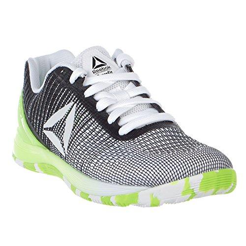 7 Vitamin Trainer C Crossfit Green Shoe 0 Nano Black Women's M White Cross US Reebok Solar Yellow Solar Black B F8Y1ztWW