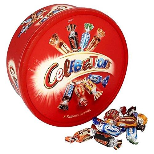 Celebration Chocolates (Celebrations Tub 750g - Pack of 2)