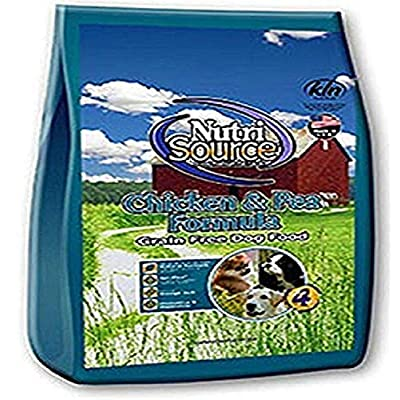 Tuffy'S Pet Food Nutrisource Grain Free Dog Food, Chicken & Pea