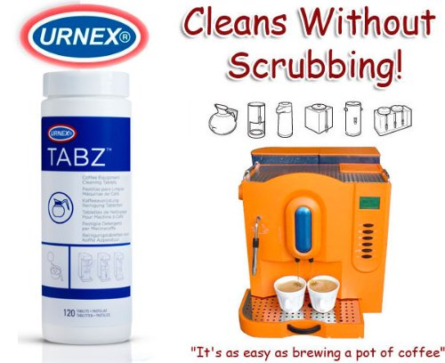 Tabz Coffee Brewer Cleaner by Urnex