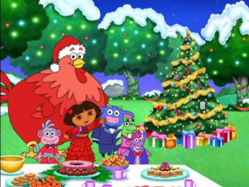 Dora's Christmas Carol Adventure (Dora Ornaments Explorer The)