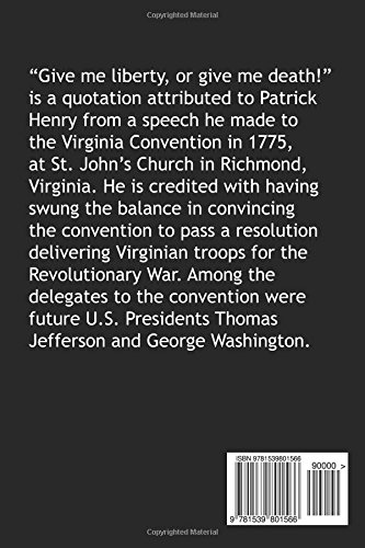 Give me liberty or give me death by patrick henry illustrated give me liberty or give me death by patrick henry illustrated patrick henry 9781539801566 amazon books fandeluxe PDF