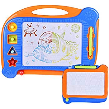 Amazon.com: 2 Magnetic Drawing Board, Doodle Drawing Board