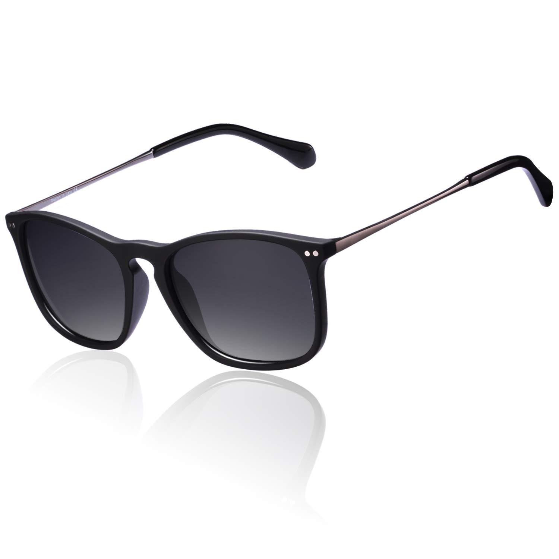 Carfia Classic Designer Polarized Sunglasses for Men, 100% UV400 Protection by Carfia
