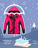 Wantdo Girl's Waterproof Skiing Jacket Thick Winter