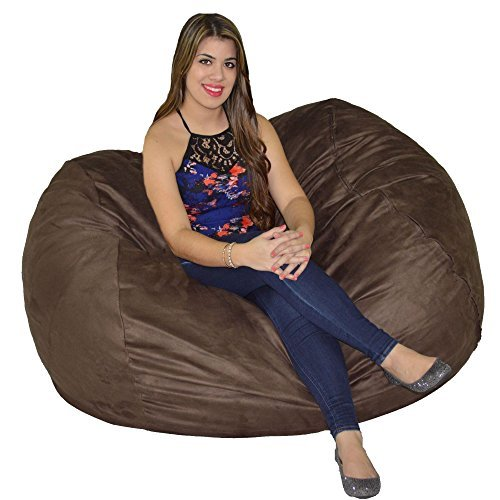 Cozy Sack Bean Bag Chair 5 with 29 Cubic Feet of Premium Foam Inside a Protective Liner Plus Removable Machine Wash Microfiber Cover