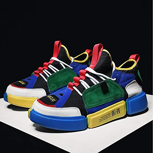 ZHZNVX Damen Schuhe Tüll Flache Sommer Komfort Neuheit Turnschuhe Flache Tüll Ferse Runde Zehe weiß grün   blau d35e47