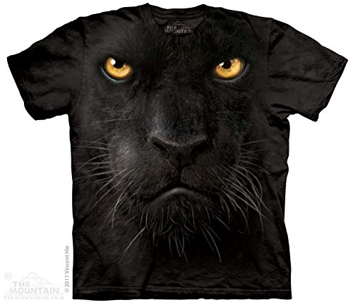 The Mountain Panther Face Adult T-shirt 3xl