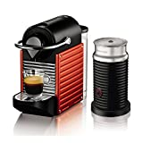 Nespresso AutoType PIXIE (Pixie) bundle set red C60RE-A3B