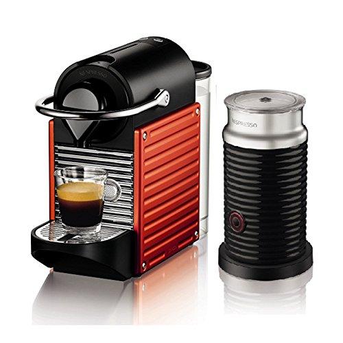 Nespresso AutoType PIXIE (Pixie) bundle set red C60RE-A3B by Nespresso