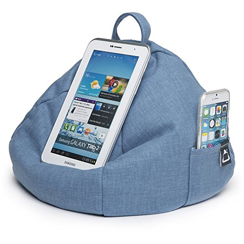 Hare All Surface Techno for iBeani Cushion Bag on Stand Holder Tablet iPad Any Bean Devices Blue Angle amp; Any qZwRzqa