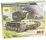 zvezda models - Zvezda Models KV-2 Heavy Soviet Tank SnapKit