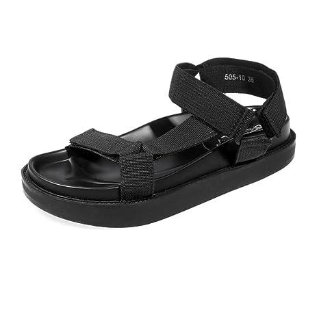 Donna Moda 505 Kjjde 10 Infradito Xmy Romano Sandali Velcro Di 34j5ARLq